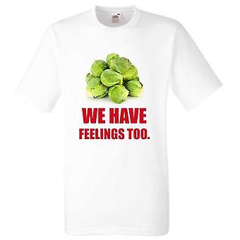 Christmas Tshirt groddar vi har känslor alltför