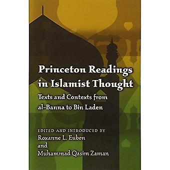 Leituras de Princeton no pensamento islâmico: textos e contextos de al-Banna de Bin Laden (estudos de Princeton na política muçulmana)