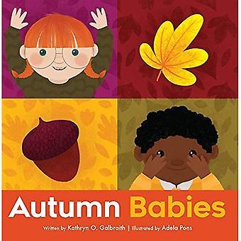 Hösten spädbarn (barn i parken) [styrelse bok]