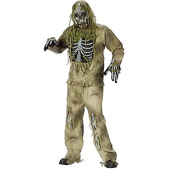 Bones Zombie Adult Costume