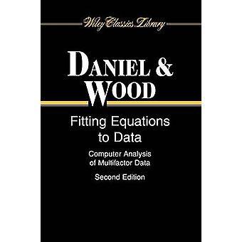 Passende Gleichungen Daten WCL p von Daniel