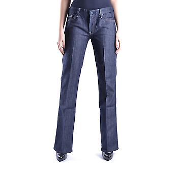 7 For All Mankind Ezbc110003 Women's Blue Cotton Jeans