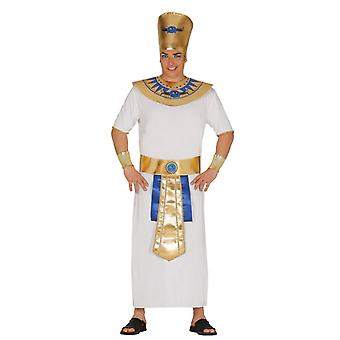 Mens Egyptische farao koning Fancy Dress kostuum