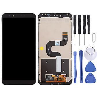 Pour Xiaomi mi a2/mi 6X affichage Full LCD Unit Touch avec cadre réparation pièce de rechange noir nouveau