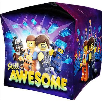 Anagram Lego Movie 2 Supershape Cubez Balloon