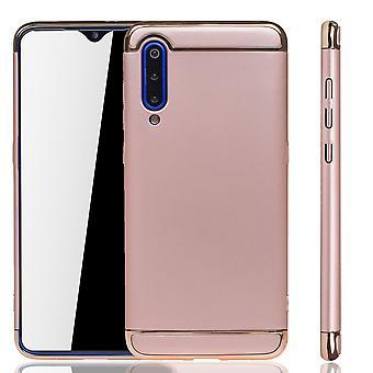 Xiaomi mi 9 teléfono celular funda protección estuche parachoques duro cubierta rosa