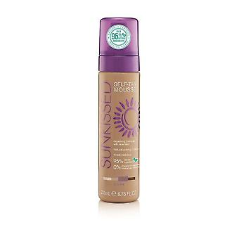 Sunkissed Self Tan Mousse 95 procent Natural-ciemny