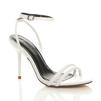 Ajvani naisten korko kenkiä tuskin on nilkka hihna ilta juhla sandaalit