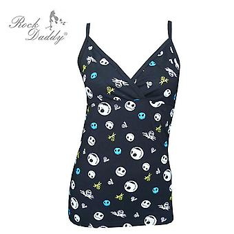 Nightmare before christmas - womens -string strap camisole top
