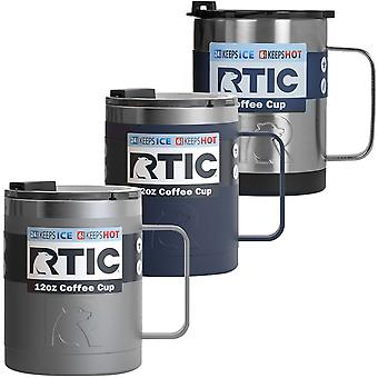 RTIC 12 oz. Stainless Steel Vacuum Insulated Coffee Cup