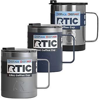 RTIC 12 uncji. Stal nierdzewna izolowana próżniowo filiżanka do kawy
