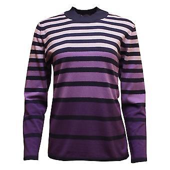LEBEK Lebek Indigo Sweater 35890019