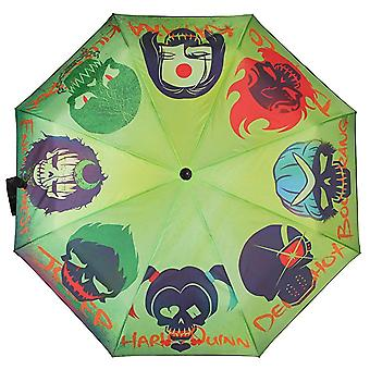Umbrella - Suicide Squad - Skulls Licensed New um4czzssq