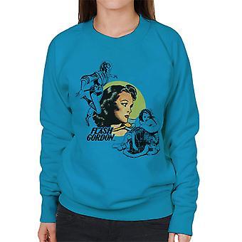 Flash Gordon Dale Montage Women's Sweatshirt