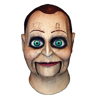 Billy Puppet Dead Silence Deluxe Horror Adult Mens Costume Overhead Full Mask