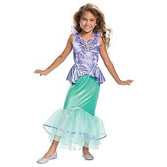 Traje clásico de Ariel para niños pequeños
