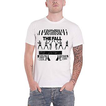 The Fall T Shirt Newport Band Logo Mark E. Smith new Official White