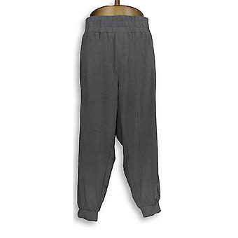 Anybody Women's Petite Cozy Knit Cargo Gray A310165