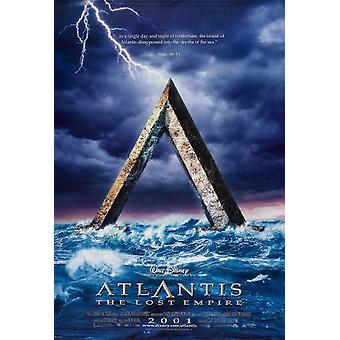 Atlantis (Advance) (2001) Original Cinema Poster