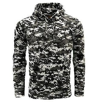 Spel digitale camouflage hoodie