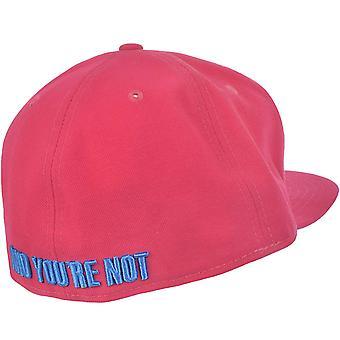 Neue Ära Mens Sorry Ich'm frisch 59FIFTY ausgestattet Sport Baseball Mütze - rosa