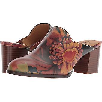 Patricia Nash Womens Nicia Leather Round Toe Mules