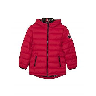 Moose Knuckles Junior Red Puffer Jacke