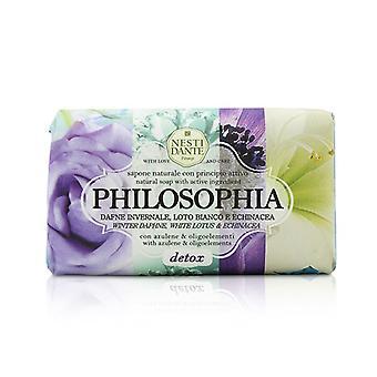 Nesti Dante Philosophia Natural Soap - Detox - Winter Daphne, White Lotus & Echinacea With Azulene & Oligoelements 250g/8.8oz