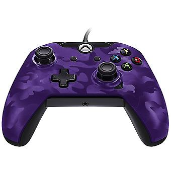 PDP Wired controller-lilla Camouflage Xbox One
