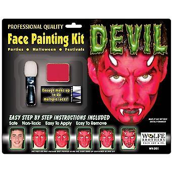 Diabeł Makeup Kit Wolfe Bros