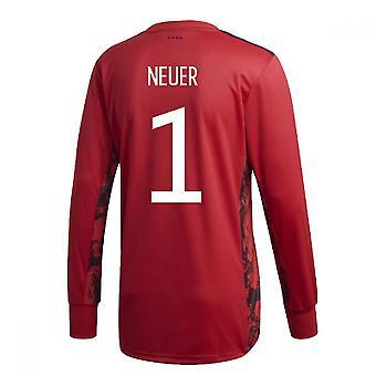 2020-2021 Germany Home Adidas Goalkeeper Shirt (Neuer 1)