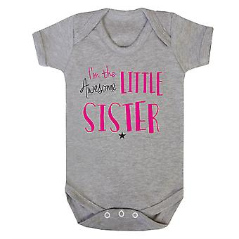 Ehrfürchtig kleine Schwester babygrow