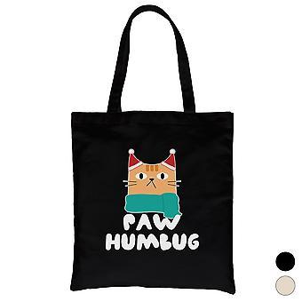Paw Humbug Cute Holiday Canvas Bag X-mas Present