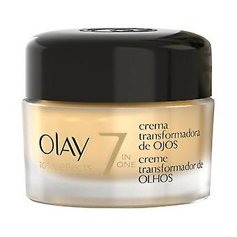 Anti-Ageing Cream for Eye Area Total Effects Olay (15 ml)