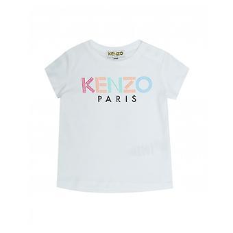 Tricou Kenzo Kids multi colorate logo
