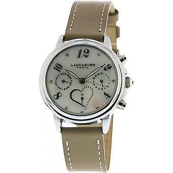 Lancaster watch watches MEZZO LPW00355 - watch MEZZO leather Mole woman