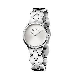 Calvin klein women's watch grey k6e23
