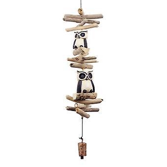 Twin Oscar Owl Tan Cohasset Bell