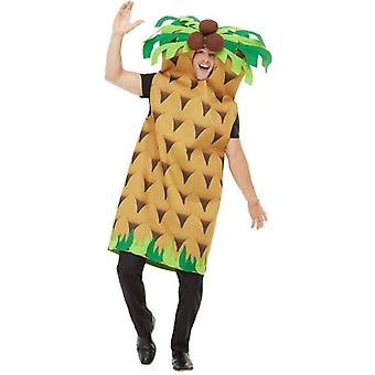 Palm Tree Costume Adult Green