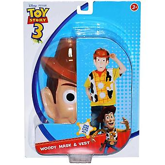 Woody Toy Story 3 Licensed Basic Boys Costume 3 - 8 Yrs