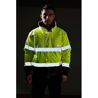 Portwest glowtex oi vis 3-em-1 jaqueta g465