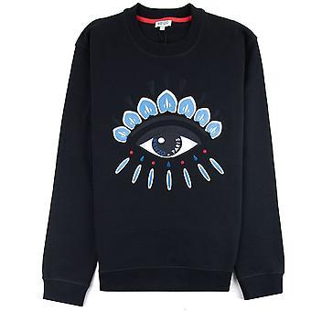 Kenzo Eye Sweatshirt Black/Teal