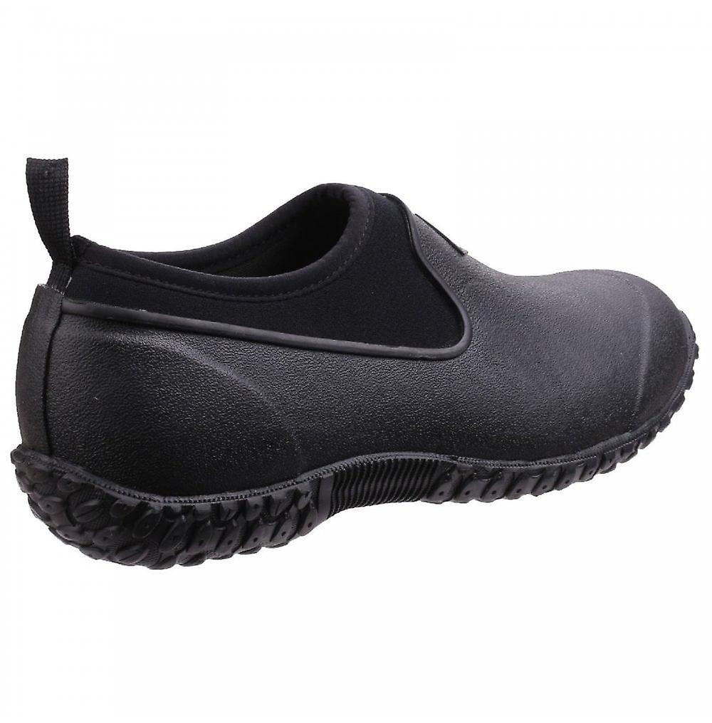 Muck Boots Dames Rhs Black Muckster II Low All Purpose Lichtgewicht Tuinieren Schoenen - Gratis verzending TkxdPs