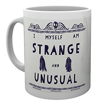 Beetlejuice Strange and Unusual Mug