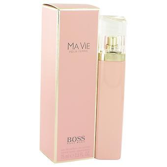 Szef Ma Vie przez Hugo Boss Eau De Parfum Spray 2,5 uncji/75 ml (kobiety)