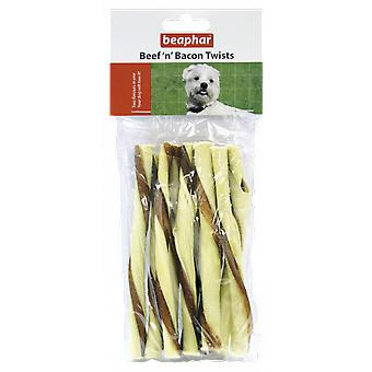 Beaphar Beef and Bacon Twists sticks (Dogs , Treats , Sticks)