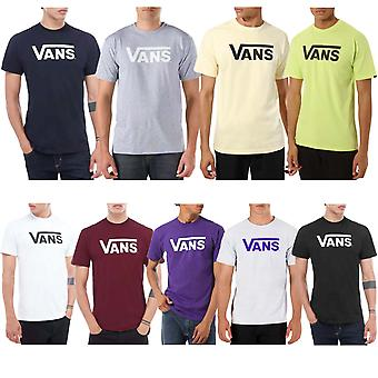 Vans Mens Classic Cotton Short Sleeve Casual Rundhals T-Shirt Top t