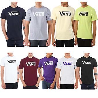 Vans Mens Classic Cotton Short Sleeve Casual Crew Neck T-Shirt Top Tee