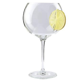 Nobile Glassware Ice And Slice Lemon Gin Glass