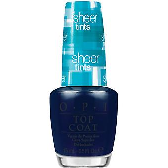 OPI Sheer Tints - I Can Teal You Like Me